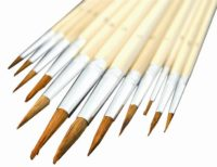 SET OF 12 BRUSHES FOR SMALL REPAIR